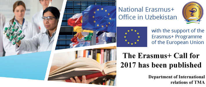 The Erasmus+ Call for 2017 has been published