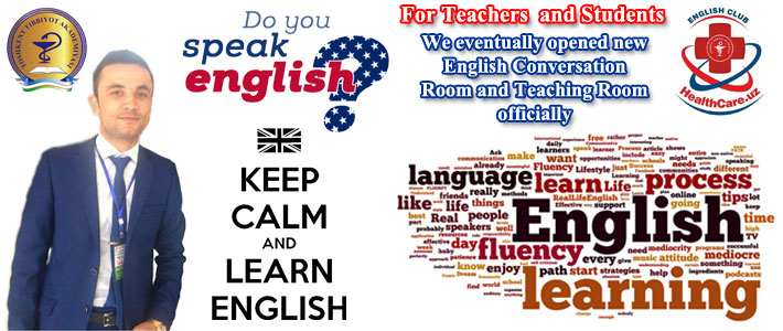Keep calm and learn English with us